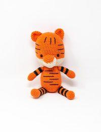 لعبة كروشيه - نمر