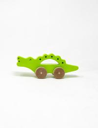 تمساح خشبي