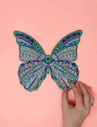 Butterfly Doodle Puzzle