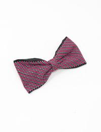 ربطة شعر مطرزة باللونين الزهري و البرتقالي