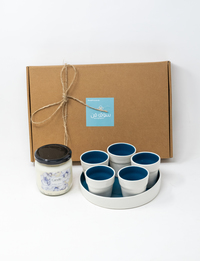 Serving Good Scents Gift Set (in Blue)