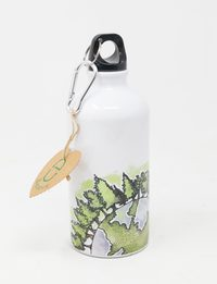 Water Bottle: Forest Patterns