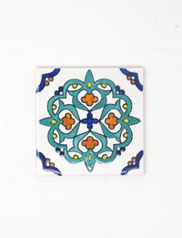 Decorative Ceramic Tile - Powder Blue Mosaic