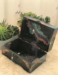 Galaxy box - Medium Rectangular (Navy Blue)