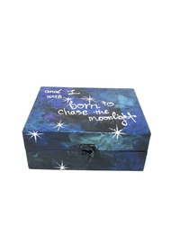 Galaxy box - Large Rectangular (Navy Blue)