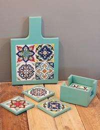 Blue Table Set