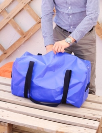 Travel Bag: Blue
