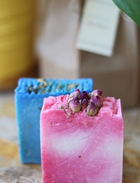 Rose and Patchouli Soaps
