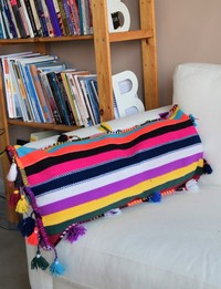 Boho-Inspired Cushion Cover