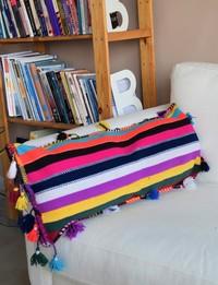 Boho-Inspired Cushion Cover