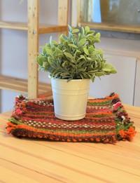 Versatile Striped Mat