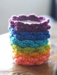 Crochet Magnet Set: Twelve Pieces