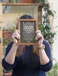 Wild Owl Print