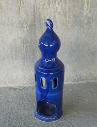 Incense Burner in the Shape of a Minaret