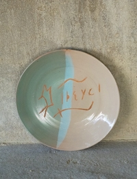 Ceramic Plate (Multiple colors)