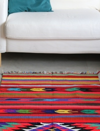 Bedouin-Inspired Carpet: Vibrant Multicolor