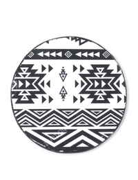 Decoupage &Tribal Geometry& Coaster