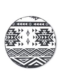 Decoupage &Tribal Geometry& Coaster