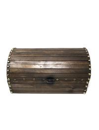 صندوق خشبي (بني)
