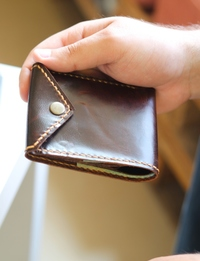 Classic Men's Wallet: Brown
