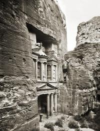 El-Khazne, Petra. 1940s