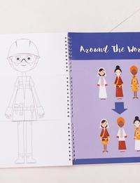 دفتر تلوين - عندما أكبر/ حول العالم
