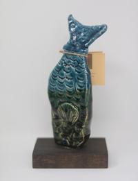 Vertical Petra Fish Statuette